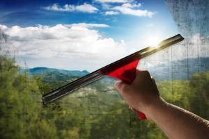 curatarea geamurilor